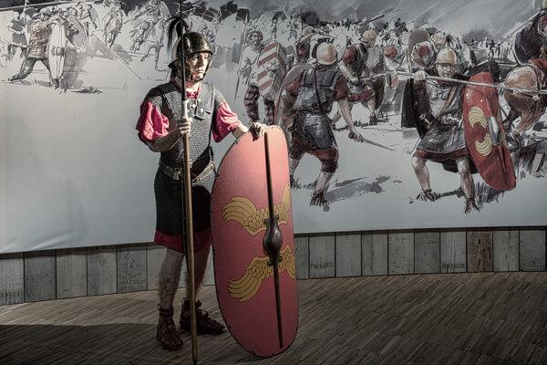 naar onderdeel Caesar neemt wraak na list Ambiorix