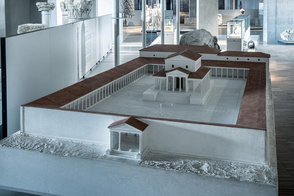Tempelcomplex is dé plek om goden te vereren